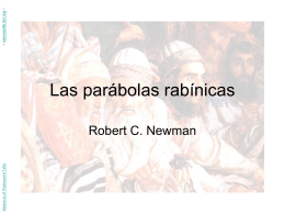Rabbinic Parables - Robert C. Newman Library at IBRI.org