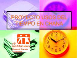PROGRAMA MUNICIPAL DE NUEVOS USOS SOCIALES DEL …