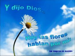 Y dijo Dios