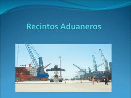 Recintos Aduaneros - gaci