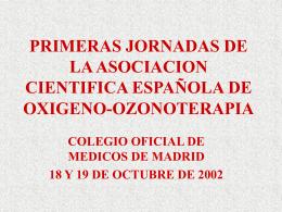 Tratamiento de la hernia de disco con ozono paravertebral