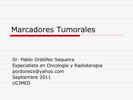 Marcadores Tumorales - 7mo Semestre UCIMED II