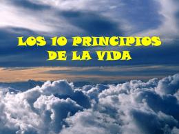 Los principios de la vida