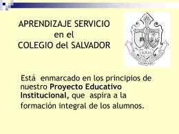 """APRENDIZAJE SERVICIO Proyecto """"Plantines de hierbas"""" …"""