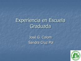 Escuela Graduada ?
