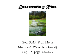 Escorrentia (Running Water)