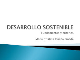DESARROLLO SOSTENIBLE - agroecologiatropical