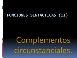 LOS SINTAGMAS - To-Lengua