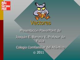 Vectors - Joaquinborrerovisbal's Blog