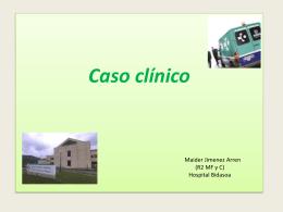 Caso clinico Maider Jimenez Arren