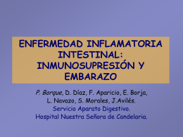 ENFERMEDAD INFLAMATORIA INTESTINAL: …
