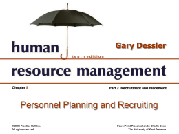 Human Resource Management 10e.