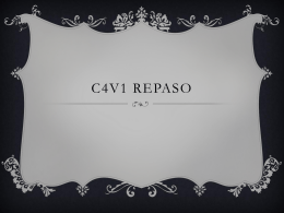 C4v1 repaso - Central Bucks School District / Homepage