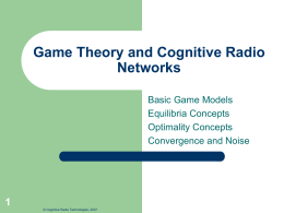 Cognitive Radio and Wireless Trends