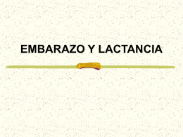 EMBARAZO Y LACTANCIA - Centro Universitario de …