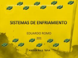 SISTEMAS DE ENFRIAMIENTO