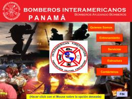 Diapositiva 1 - Bomberos Interamericanos