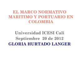Diapositiva 1 - Universidad Icesi - Cali, Colombia