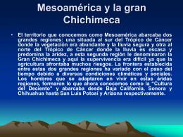 Regiones o complejos culturales de la gran Chichimeca