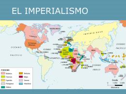 EL IMPERIALISMO Y LA GRAN GUERRA