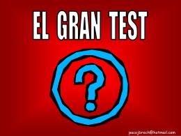 el gran test - Guiri Islas Canarias