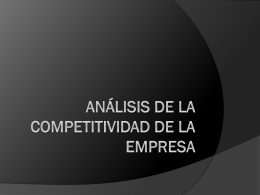 Marketing- Analisis de la Atractividad del Mercado