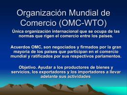 OMC - Asia Pacifico