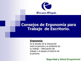 Salud postural - Instituto de Ingenieria UNAM