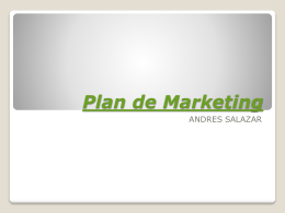 Plan de Marketing - Colegio Gimnasio del Norte