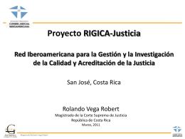 La Norma y Modelo GICA-Justicia