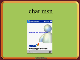 Un dialogue sur msn - Escudos y Enlaces gratis