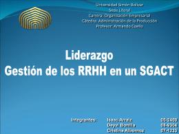 Sistemas de aseguramiento de la calidad (SAC)