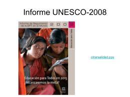 La educacion y el desarrollo sostenible UNESCO