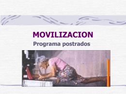 MOVILIZACION - Servicio de Salud del Maule