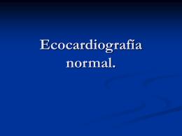 Ecocardiografia - Bienvenidos al Departamento de …