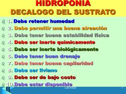 HIDROPONIA - UPCH - Universidad Peruana Cayetano …
