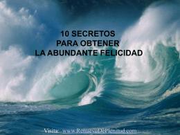 10 Secretos - Renuevo De Plenitud