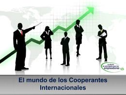 El mundo de los Cooperantes Internacionales