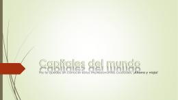 Capitales del mundo - GCFAprendeLibre.org