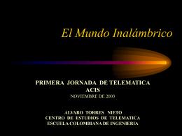 EL MUNDO INALAMBRICO - Bienvenido a ACIS | ACIS