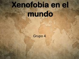Xenofobia en el mundo