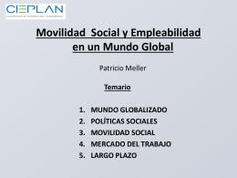 Movilidad Social y Empleabilidad en un Mundo Global
