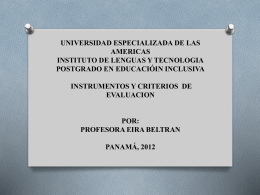 UNIVERSIDAD ESPECIALIZADA DE LAS AMERICAS …