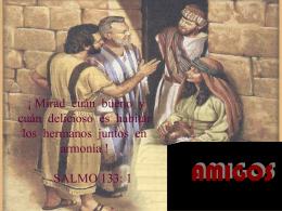 Romanos 12:9-21 - Web de la Iglesia de Cristo en Sevilla
