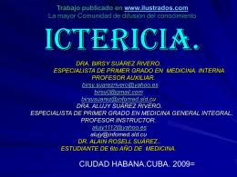 ICTERICIA - ilustrados