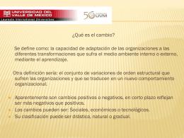 Diapositiva 1 - SDAD-UVM