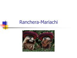 Ranchera-Mariachi