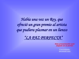 LaPazPerfecta - ~~*Crecimiento Personal *GAYATRI …