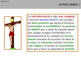 ACTOS LIBRES, 1 - CAMINANDO CON JESUS