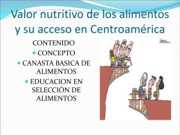 PROBLEMA ALIMENTARIO NUTRICIONAL